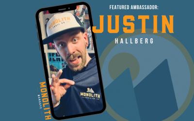 #MonolithMonday: Meet our Monolith Trail Team Ambassador Justin Hallberg