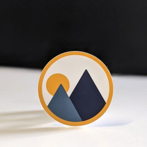 product image of monolith trail co brandmark circle sticker
