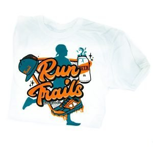 product image of run trails tee by dirt run co