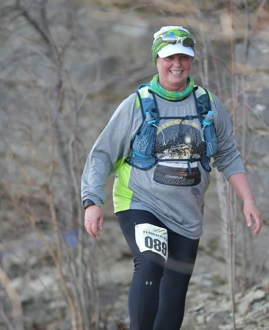 shawn naeve running a trail race